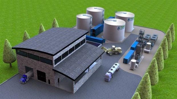 [Photo] Future usine de biométhanisation : La SÉMER obtient le certificat d'autorisation environnemental